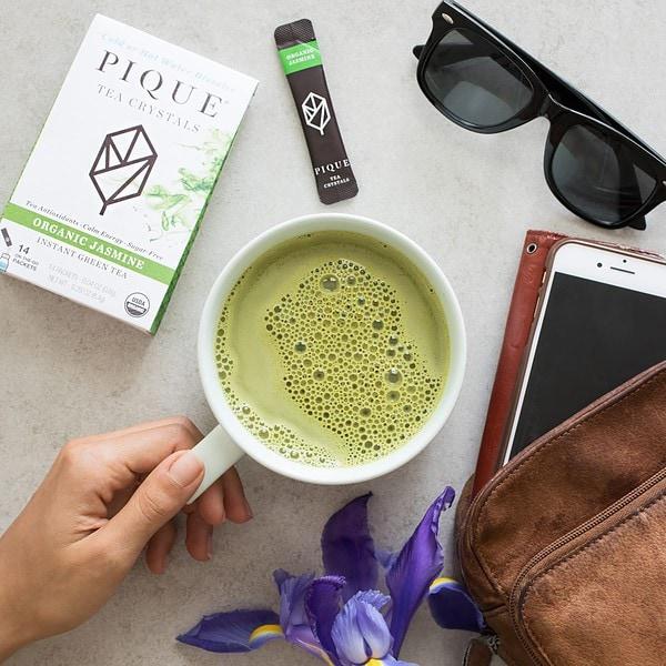 Green Pique Tea Latte