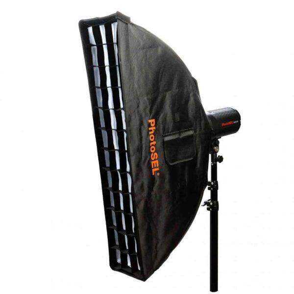 strip softbox per studio fotografico