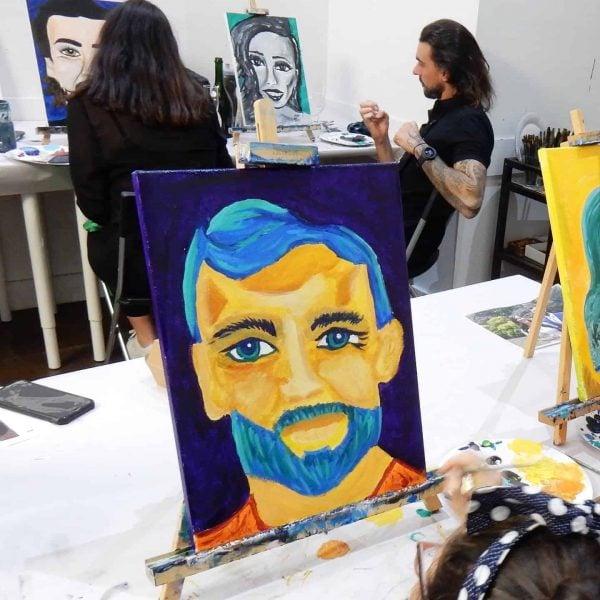 portrait painting melbourne