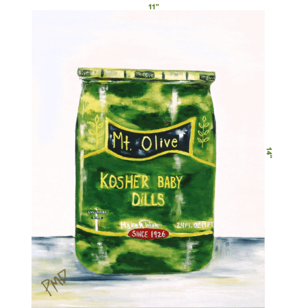 Color Print of Kosher Baby Dills