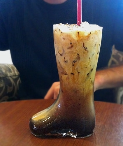 Mexican Coffee in Boot