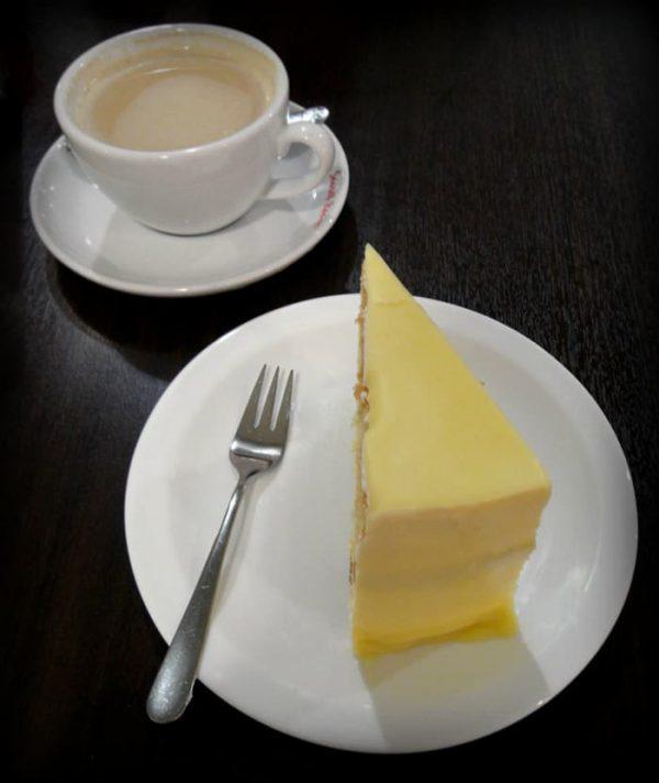 White Chocolate Macadamia Cake Wedge