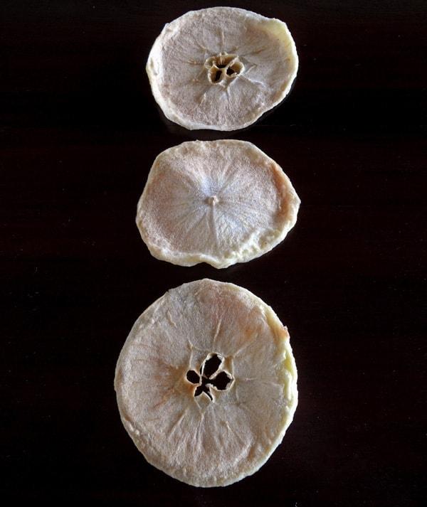 Three Apple Chips