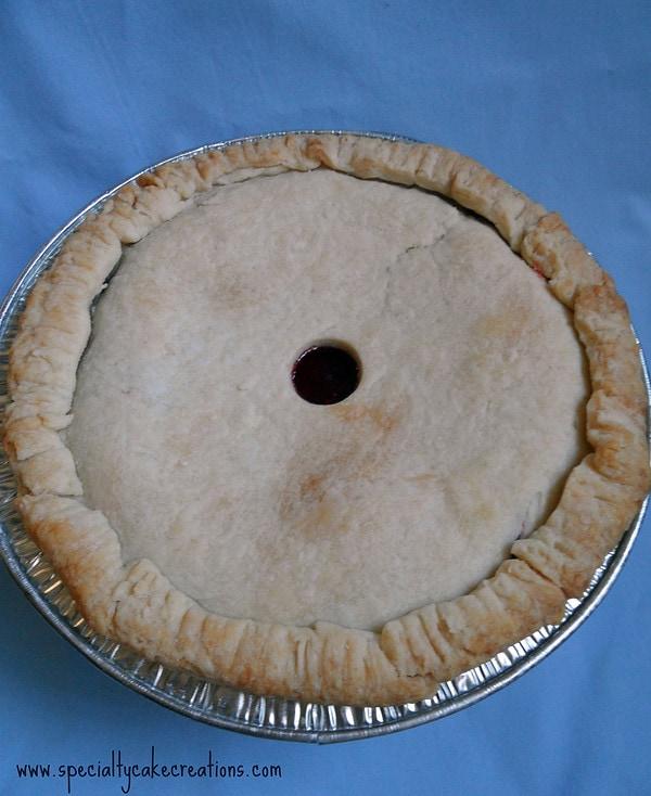 Baked Pie in Aluminum Pan