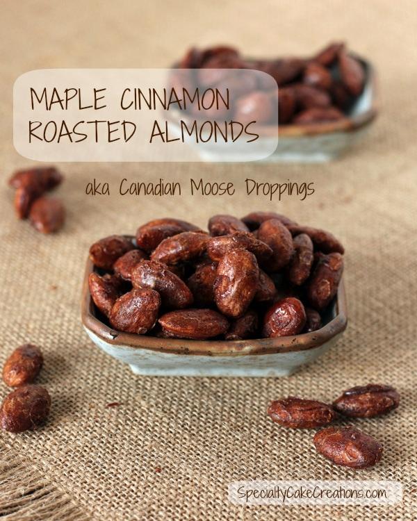 Cinnamon Maple Roasted Almonds