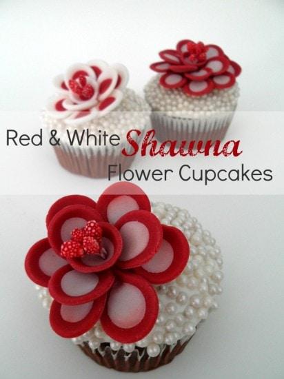 Shawna Flower Cupcakes