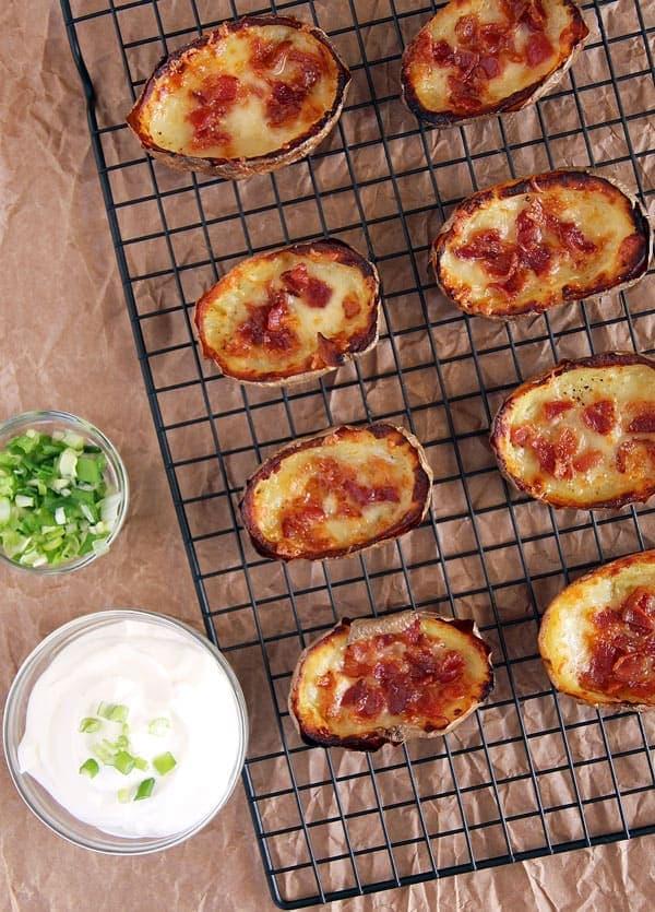 Potato Skins with Bacon