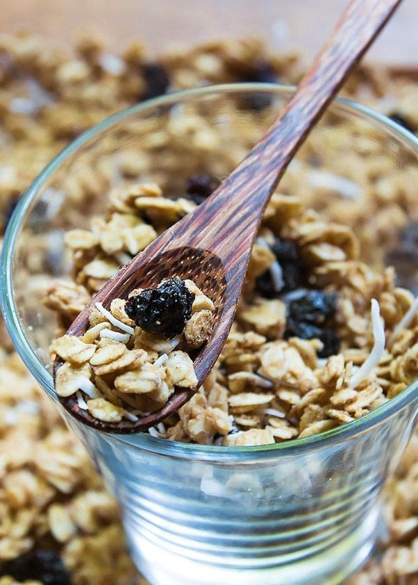 Crunchy Peanut Butter Granola Cereal