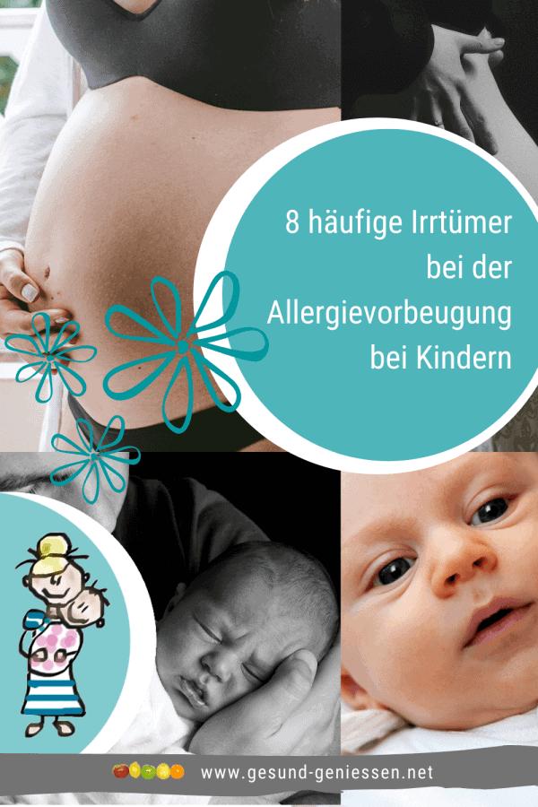 Pin Irrtümer Allergien