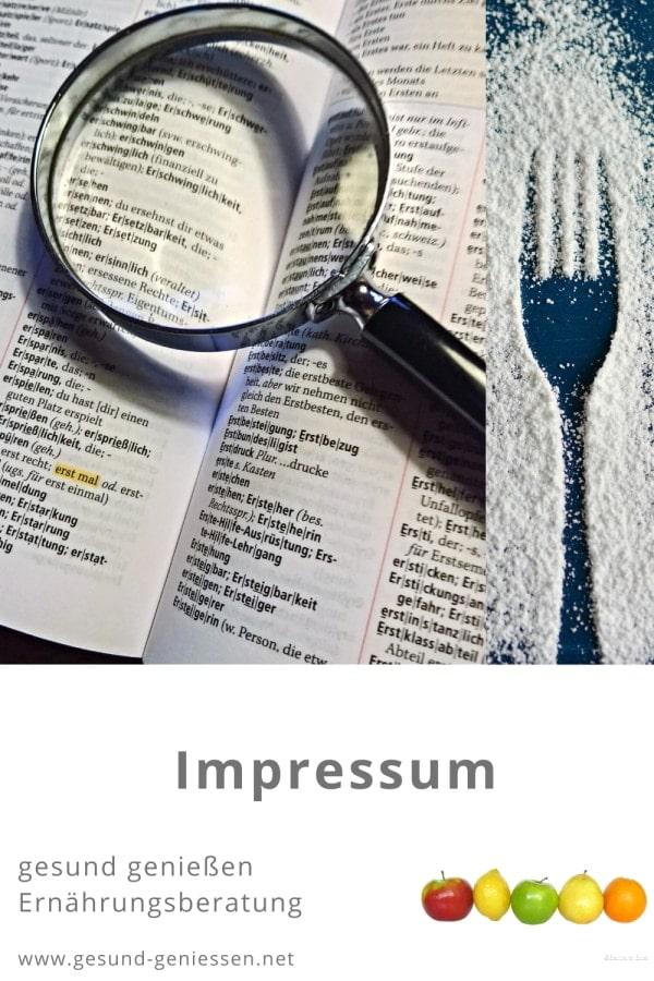 Pin Impressum
