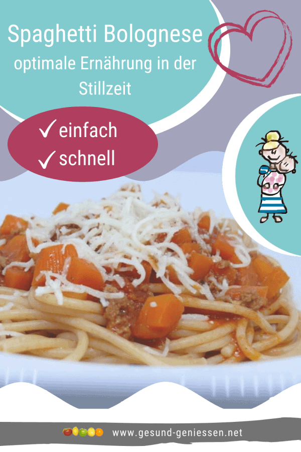 Pin Rezept Spaghetti-Bolognese