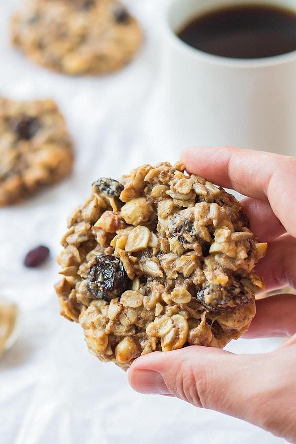Healthy Banana Breakfast Cookie