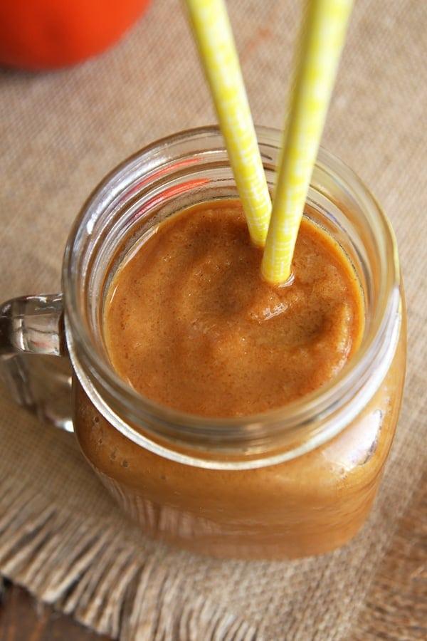 Pumpkin Spice Latte in Jar