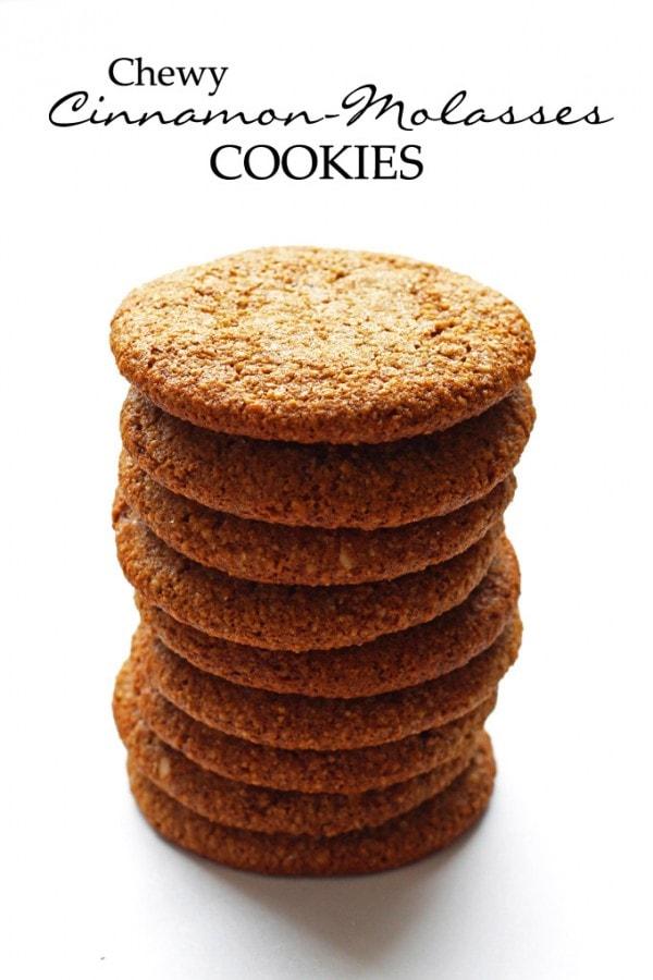 Cinnamon Molasses Cookies