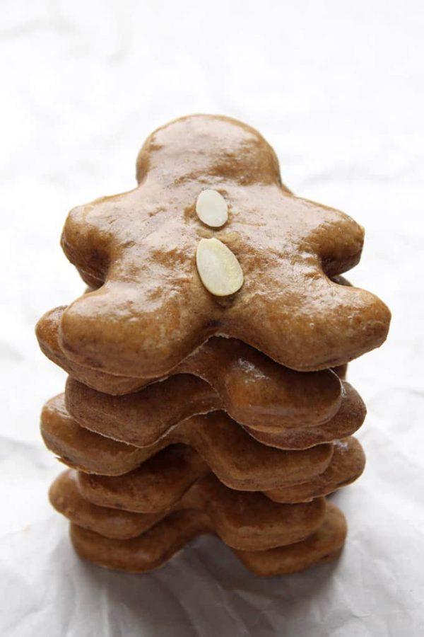 Stack of Gingerbread Men
