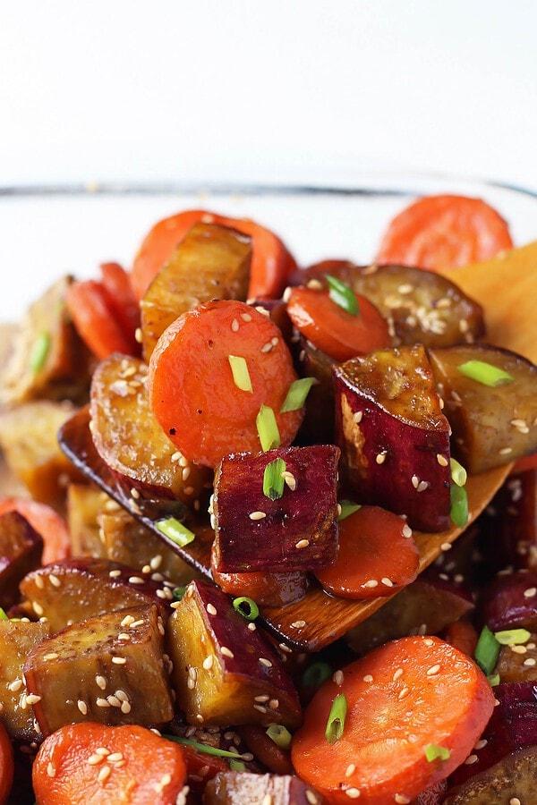 Baking Dish of Roasted Vegetables