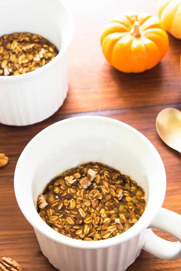 Baked Pumpkin Spice Oatmeal