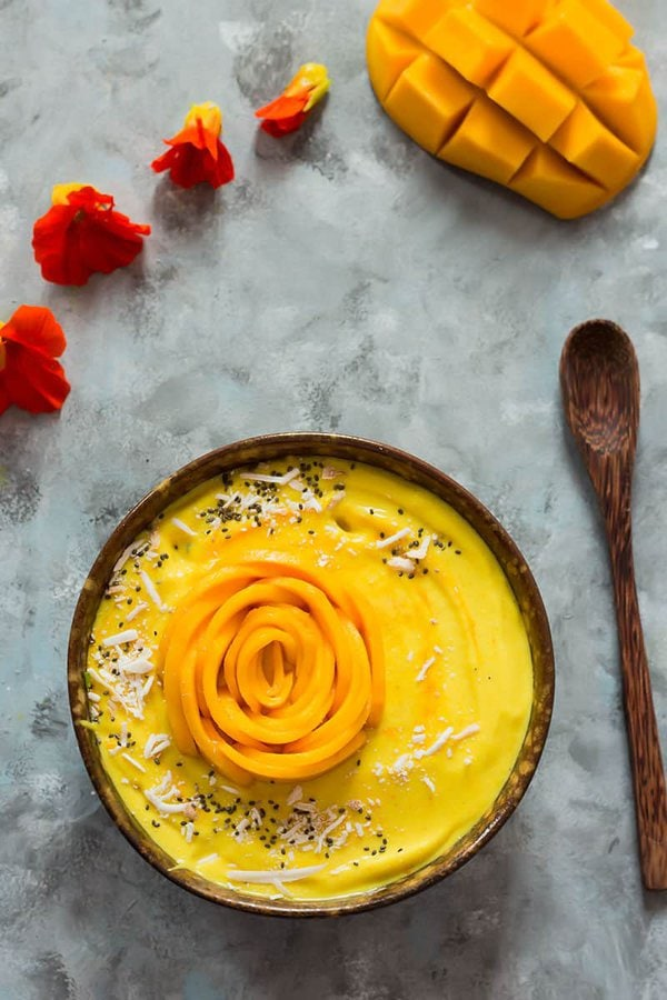 Mango Smoothie Bowl with Coconut