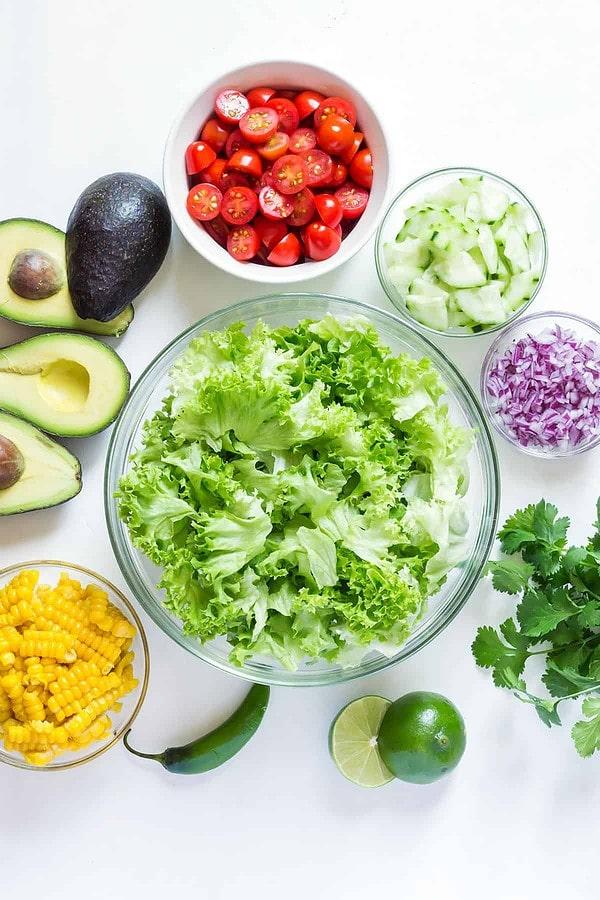 Avocado Corn Salad Ingredients