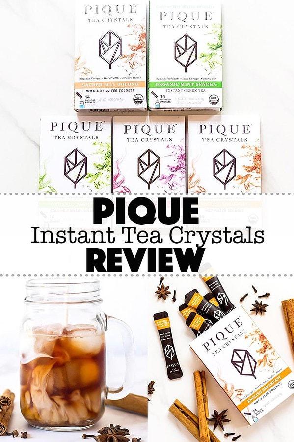 Review of Pique Tea Crystals