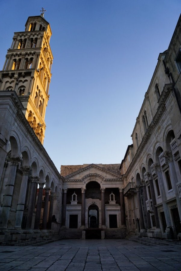 Peristyle, Diocletian's Palace, Split, Croatia - Experiencing the Globe