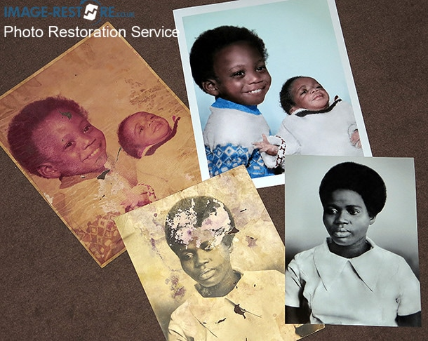 How to restore water damaged photos