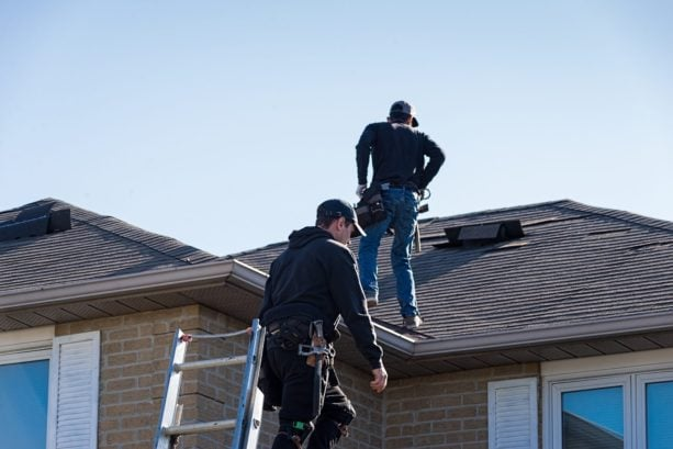 getting your roof evaluated before starting the project
