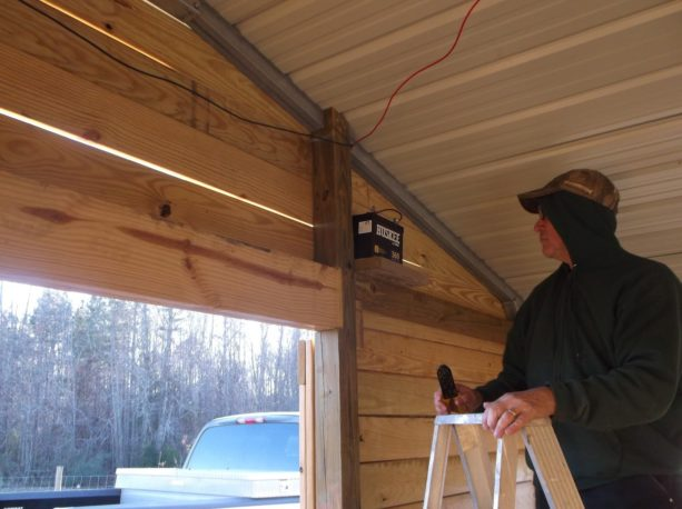what are the things you need to build an enclosed metal carport with wood