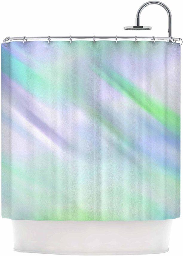 Alison Coxon Mermaid's Dream polyester shower curtain