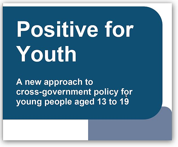cover: Positive for Youth document