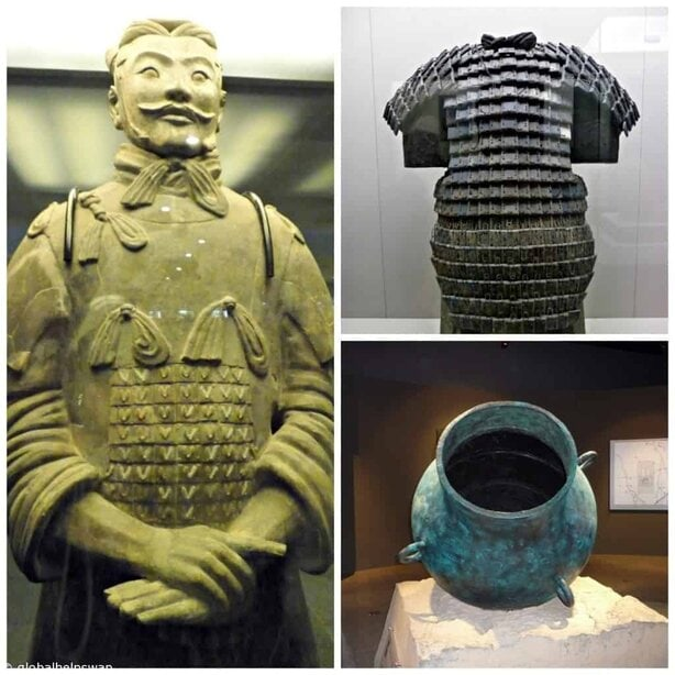 Visiting the Terracotta Army in Xian, China