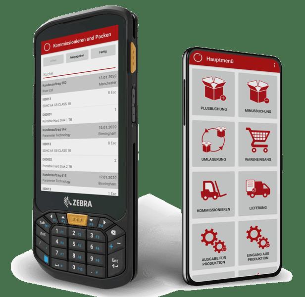 mobile Lagerverwaltung für SAP Business One