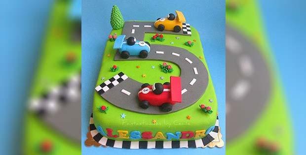 Awesome kid birthday cake
