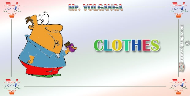 Mr. Volganga shares his thoughts about clothes, fashion and style