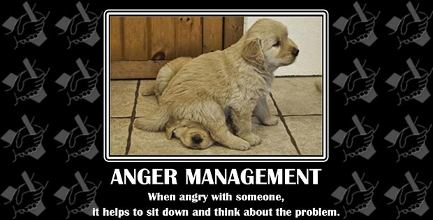 Funny anger quotes