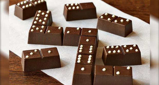 Chocolate dominoes