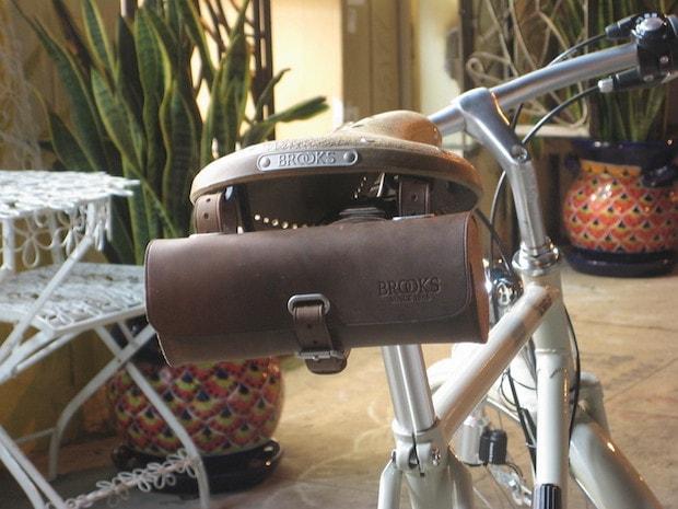 Brooks saddle bag