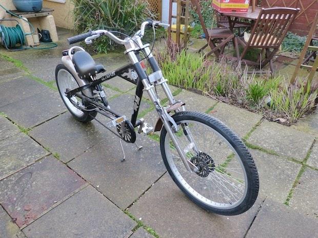Chopper cruiser bike