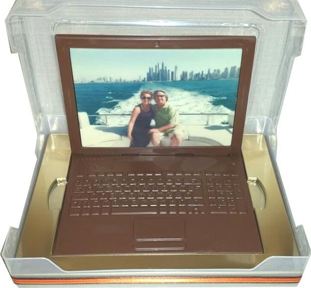 Chocolate laptop