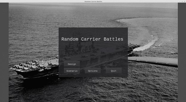 random carrier battles main menu