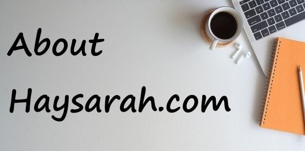 about haysarah.com