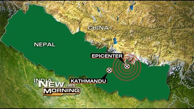 Second major earthquakes strikes Nepal on 12th May 2015