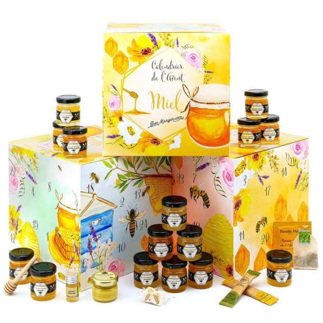 Calendrier de l'avent gastronomique miel