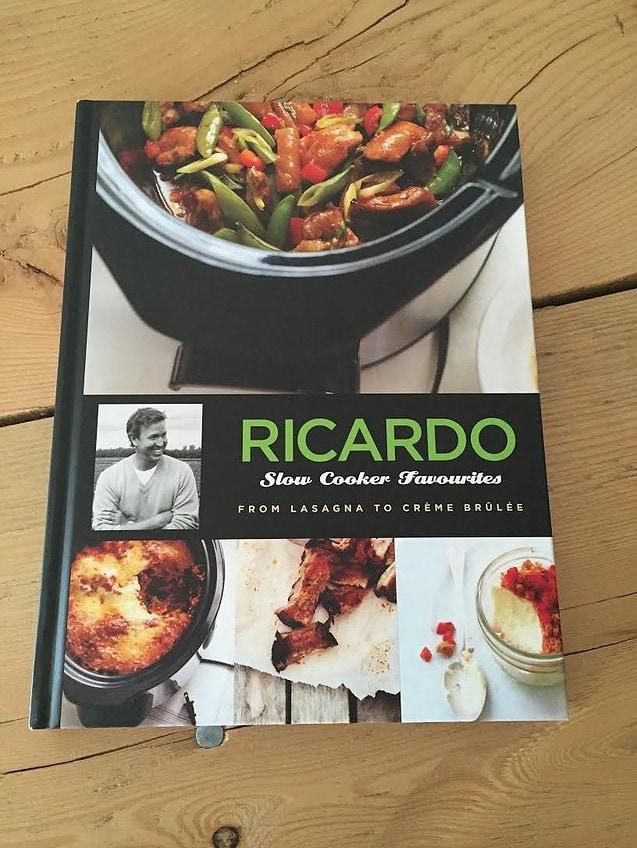 Ricardo Slow Cooker Favorites Cookbook