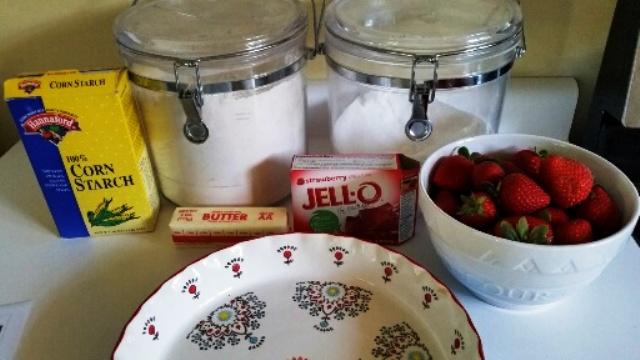 Easy Strawberry Pie