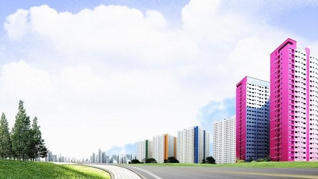 pemandangan green pramuka city, apartemen cempaka putih,unit sale apartemen