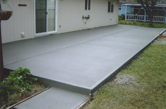patio concrete