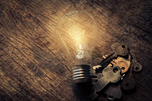 лампа связка ключей