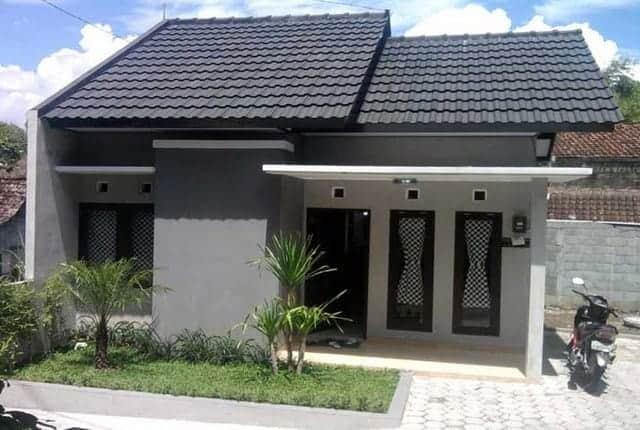 rumah minimalis, atap rumah, model atap