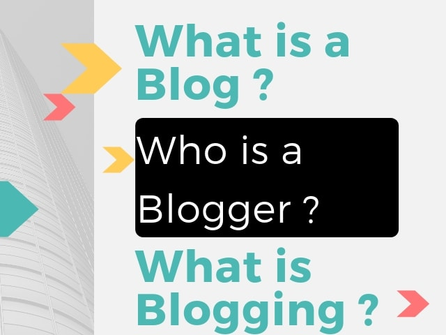 Blog Blogger Blogging